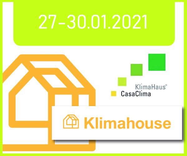 KlimaHouse 27-30/01/2021