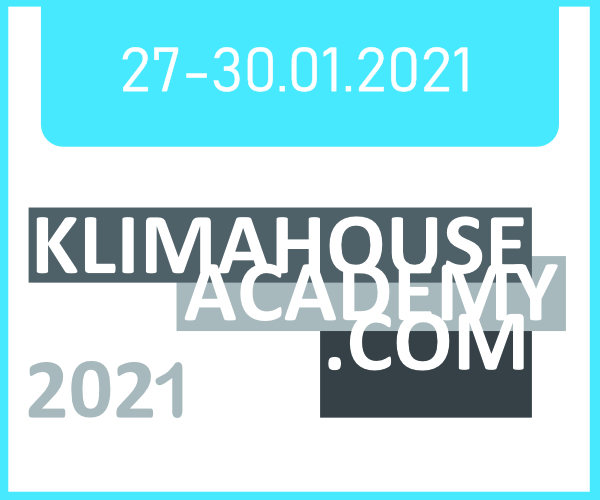 KlimaHouse Academy 27-30/01/2021